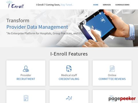 I-Enroll | Comprehensive Credentialing Solution