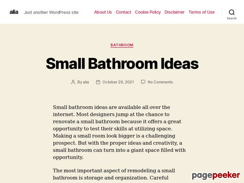 Screeshot of Nanotechnology Investing