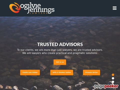 Ogilvie Jennings Lawyers Website