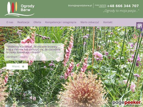 Zamów projekt ogrodu na Ogrodybarw.pl