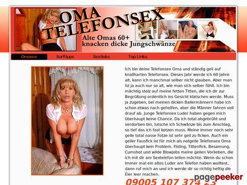 Oma Telefonsex - Omi Fotze will ficken
