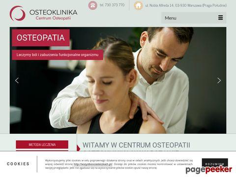 Leczenie kręgosłupa - Osteoklinika