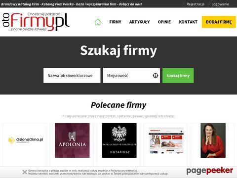 Katalog firm - branżowy katalog firm