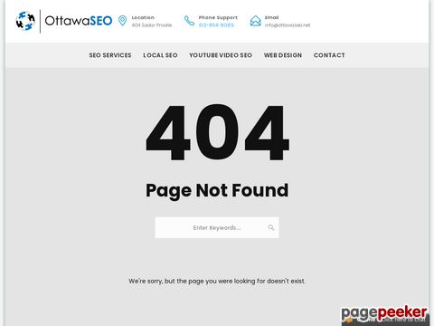 Screeshot of Easy Plans Of Ottawa SEO - The Facts