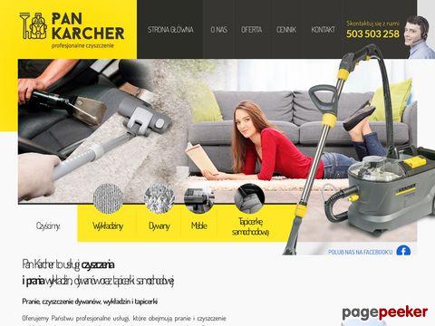 Pankarcher.pl - pranie tapicerki Poznań