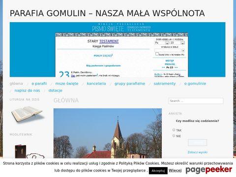 Więcej o stronie : Parafia p.w. Świętego Mikołaja Biskupa w Gomulinie