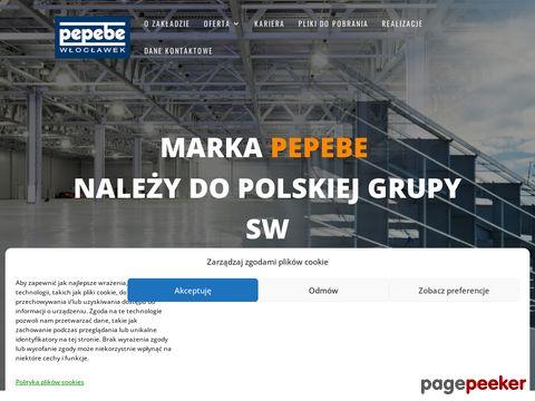 Więcej o stronie : Pepebe - budynki modułowe