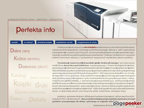 Perfekta info drukarnia cyfrowa, wydawnictwo