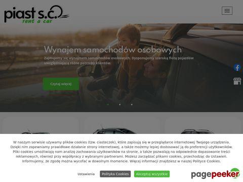 Wynajem Samochodów Gdańsk Piast S.C.
