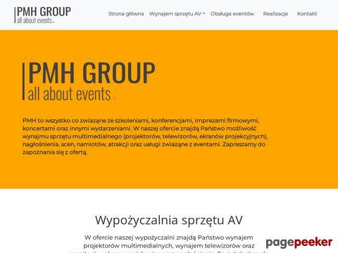 PMH Media - wypożyczalnia sprzętu multimedialnego