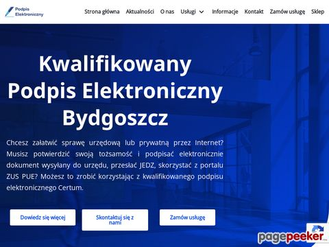 Podpis Bydgoszcz
