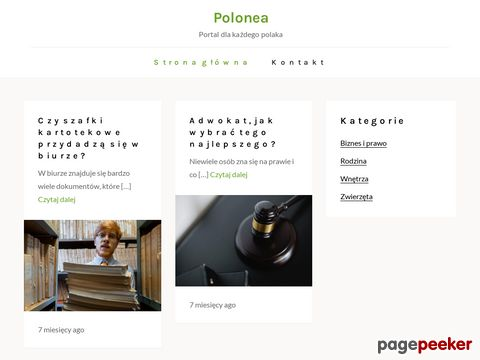 Woda dystrybutor - Polonea