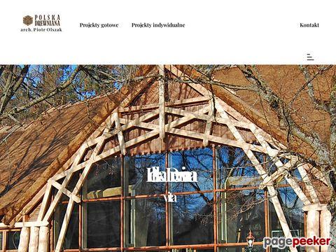 POLSKA DREWNIANA projektowanie domu z drewna