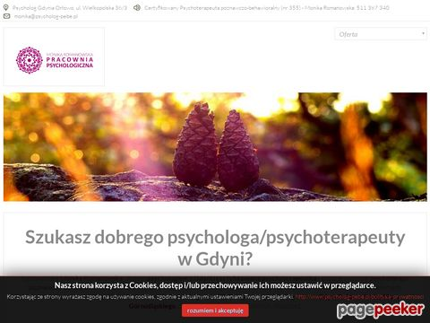 Monika Romanowska | Psychoterapia Poznawczo-Behawioralna Gdynia
