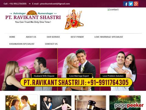 Screeshot of Get lost love back | Famous vashikaran specialist