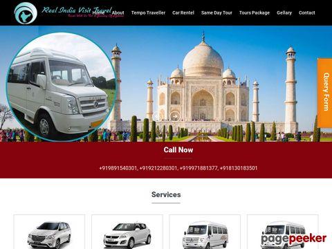 Screeshot of Tempo Traveler on Rent in Delhi