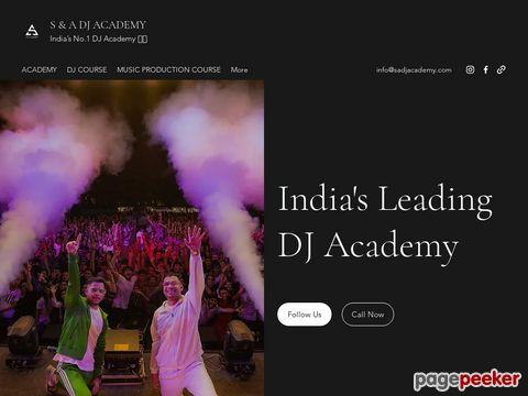 Screeshot of Dj academy in pune