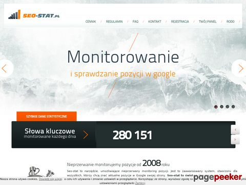 seo-stat.pl- monitoring google