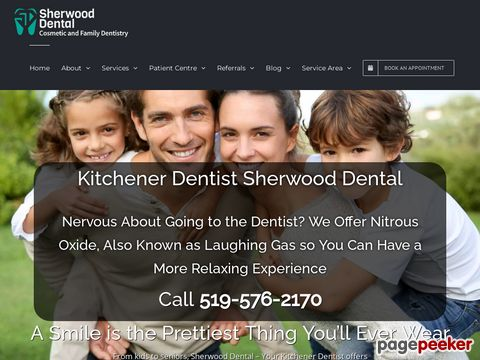 Screeshot of Dental emergency in Kitchener
