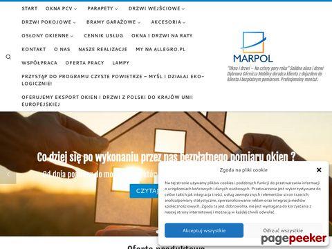 okna PCV i drzwi, rolety