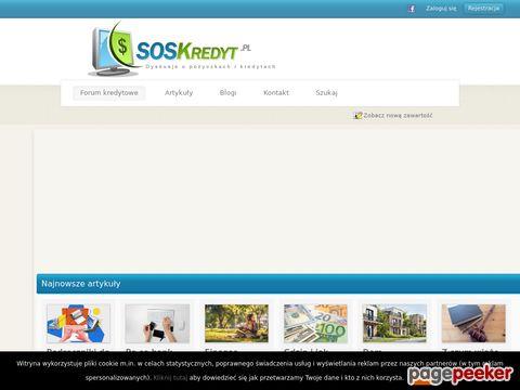 SOSKredyt - rzetelne źródło informacji o kredytach i pożyczkach