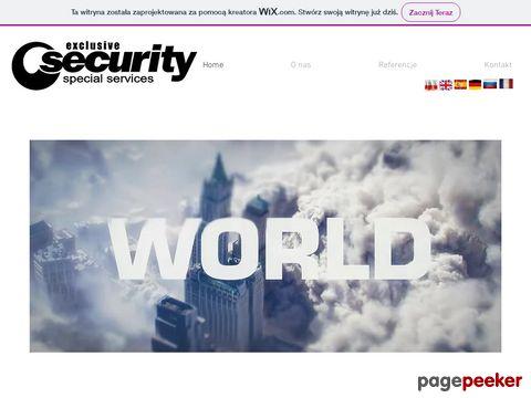 Special Services- ochrona osób i mienia