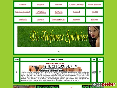 Details : Telefonsex Spielwiese
