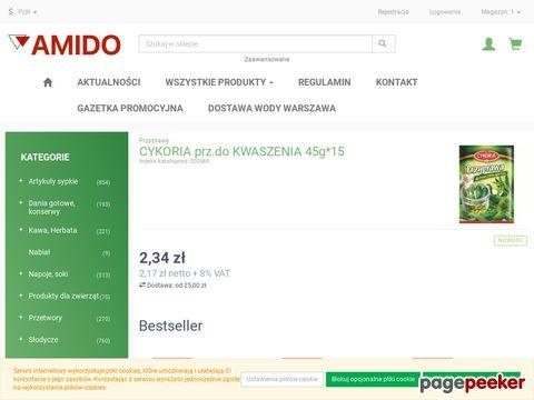 Hurtownia spożywcza z Warszawy