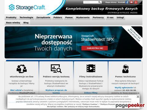 Backup system StorageCraft