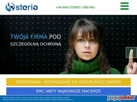 Profesjonalne macierze dyskowe - www.storio.pl