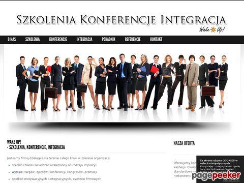 Konferencje, szkolenia, imprezy integracyjne - Wake up