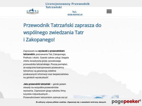 Usługi Przewodnika Tatrzańskiego