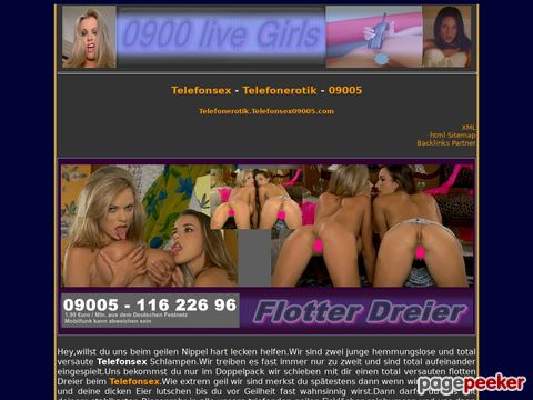 0900 Telefonsex Girls