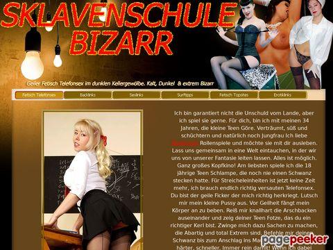 Sklavenschule Bizarr - Fetisch Telefonsex der Extraklasse