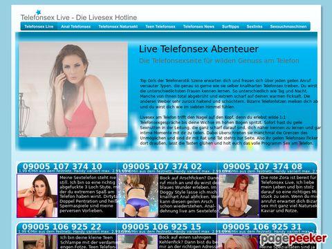 Details : Telefonerotik Livesex Portal