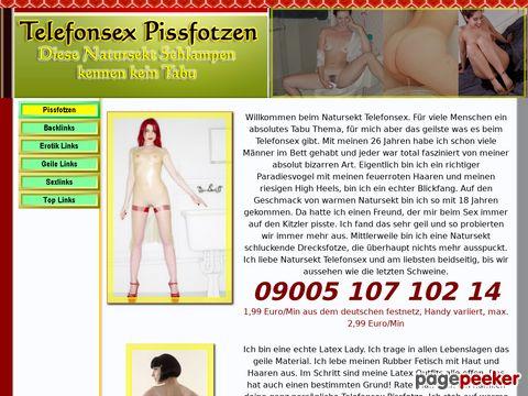 Details : Telefonsex Pissfotzen - Pinkelspiele am Sextelefon