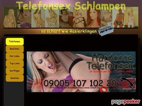 mehr Information : Private Telefonsex Schlampen