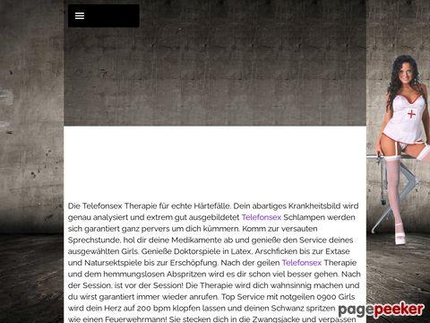 Details : 0900 Bizarr Therapie - Fetisch Telefonsex ohne Tabus