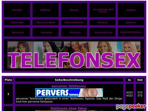 Details : Telefonsex Premium Sexliste 100