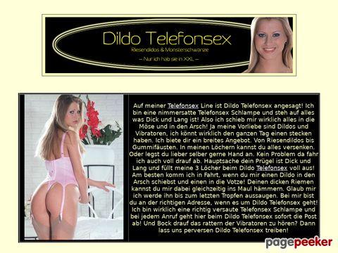 Details : Dildo Telefonsex in XXL