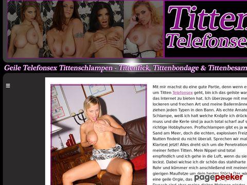 Details : Das Tittensex Erotiktelefon