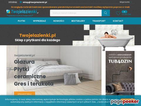 Twojelazienki.pl - sklep z asortymentem płytek