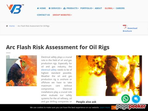 Screeshot of Arc Flash Risk Assessment for Oil Rigs | Arc Flash Protection