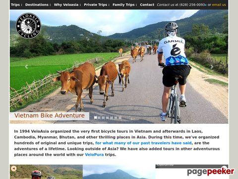 Screeshot of Vietnam bicycle tour | Vietnam adventure tour | Laos bicycle tour | Myanmar bicycle tour