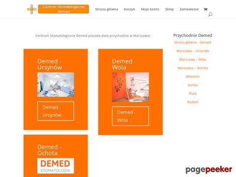 Implanty, ortodoncja, stomatologia - Centrum Stomatologiczne Demed