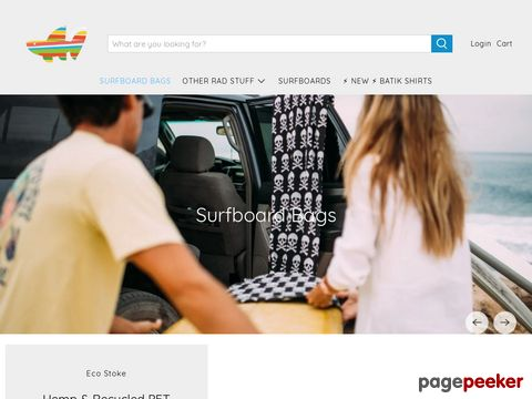 Screeshot of Wave Tribe Surfboard Travel Board Bags