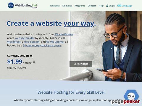 WebHostingPad promo codes