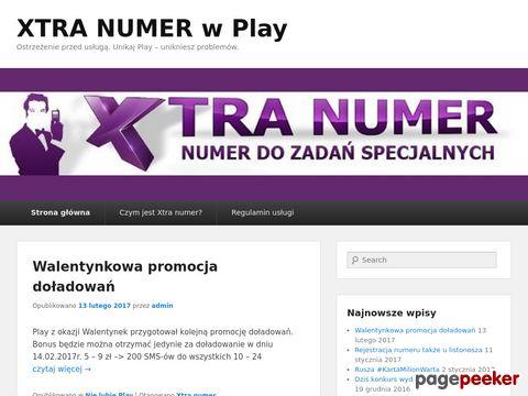Xtra numer w Play