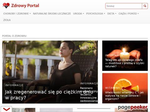 Portal o zdrowiu - zdrowyportal.pl