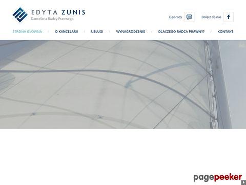 Edyta Zunis Kancelaria Radcy Prawnego - Radca Prawny Wrocław